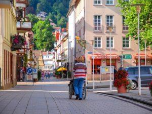 バリアフリーに配慮されたドイツの街
