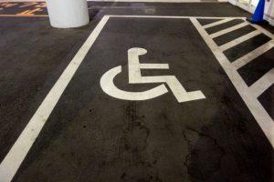 車いす駐車場