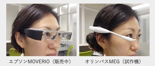 眼鏡型端末