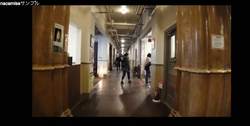 博物館の廊下