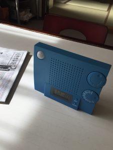 我が家の電池式ラジオ