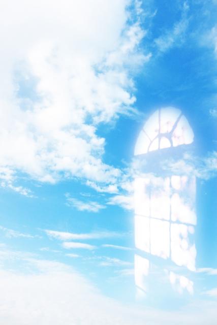 開かれた扉のイメージ